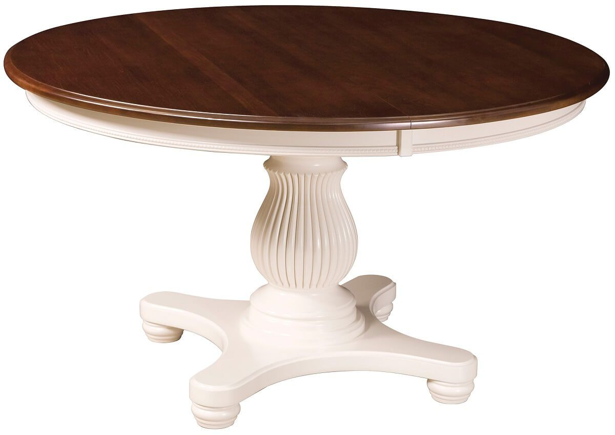 Windsor Place Round White Table