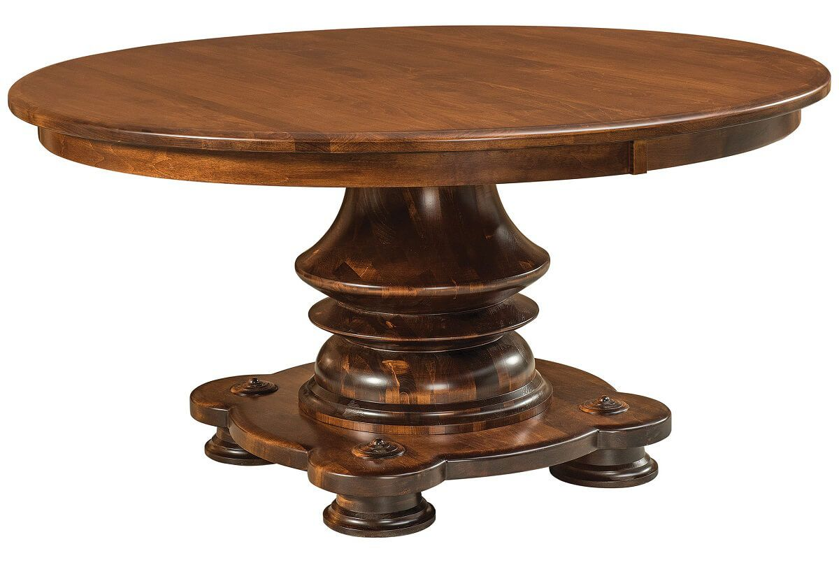 Kuhn Round Pedestal Table