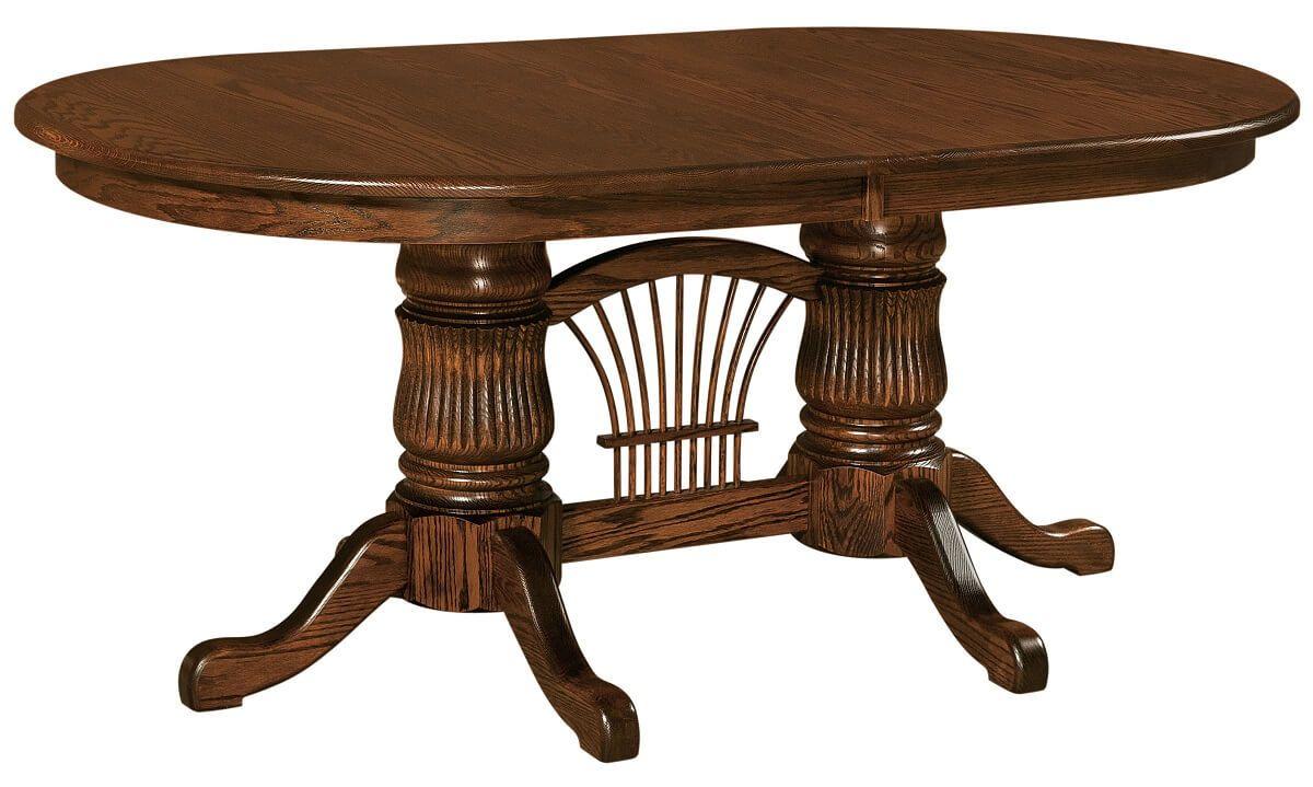 Anawalt Double Pedestal Table
