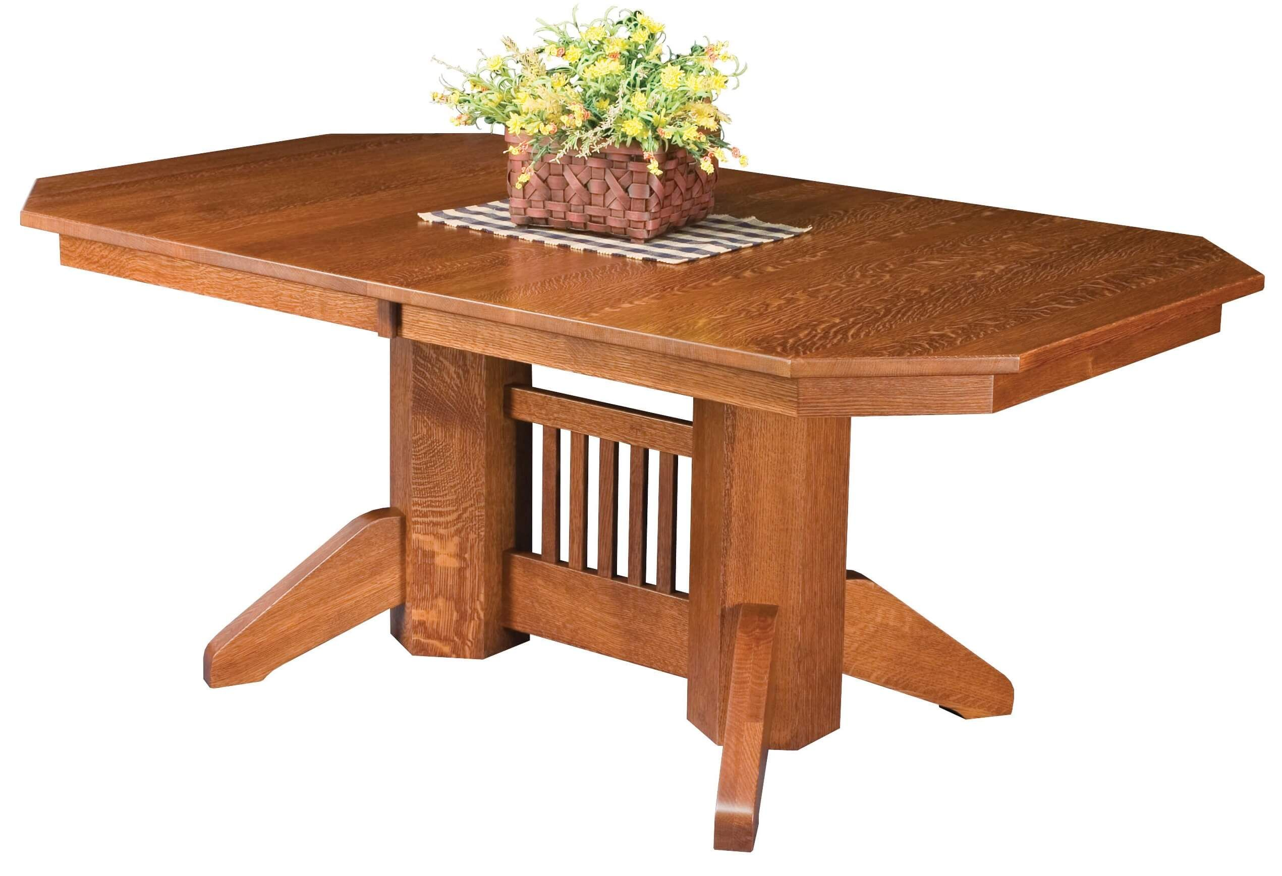 Daviston Double Pedestal Table