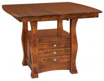 Ladue Butterfly Leaf Cabinet Table