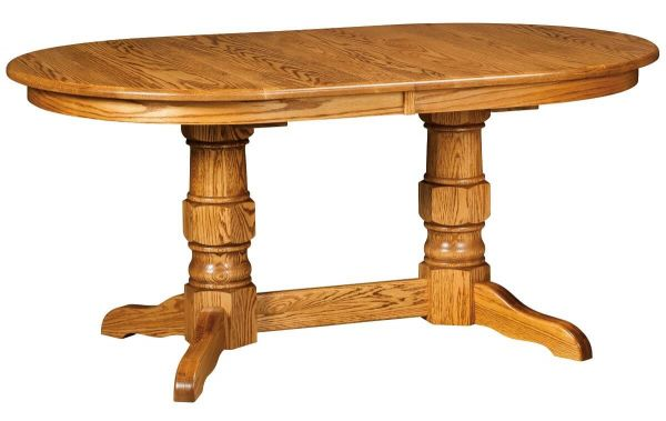 Mecosta Double Pedestal Table