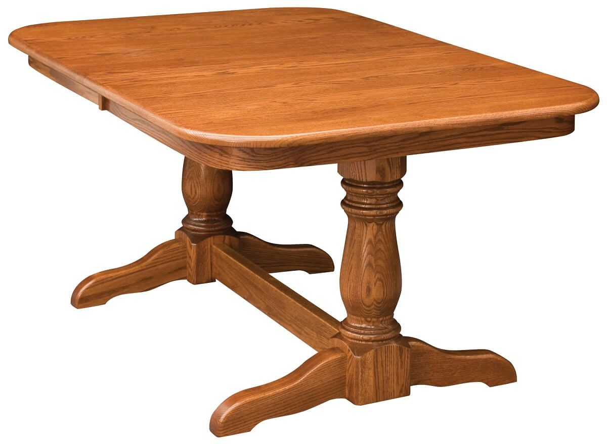 Scituate Double Pedestal Table