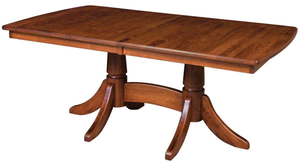 Tuckerman Double Pedestal Table