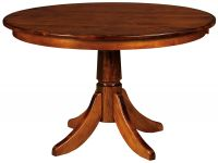 Tuckerman Single Pedestal Table