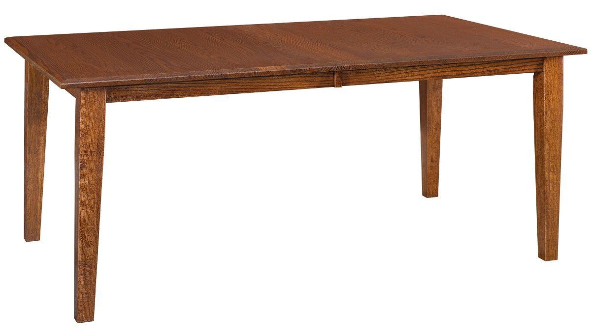 Oak Shaker Leg Table