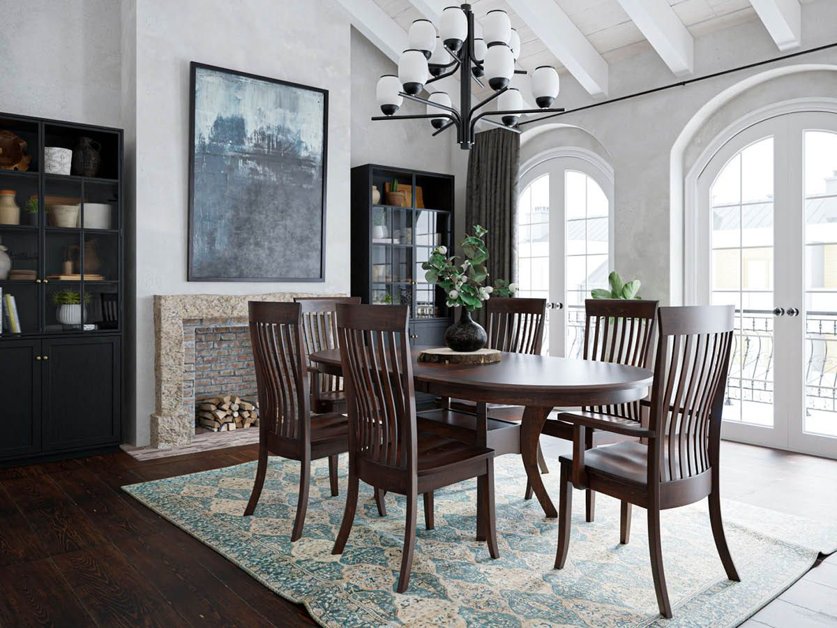 Shown with Knox County Oval Dining Table
