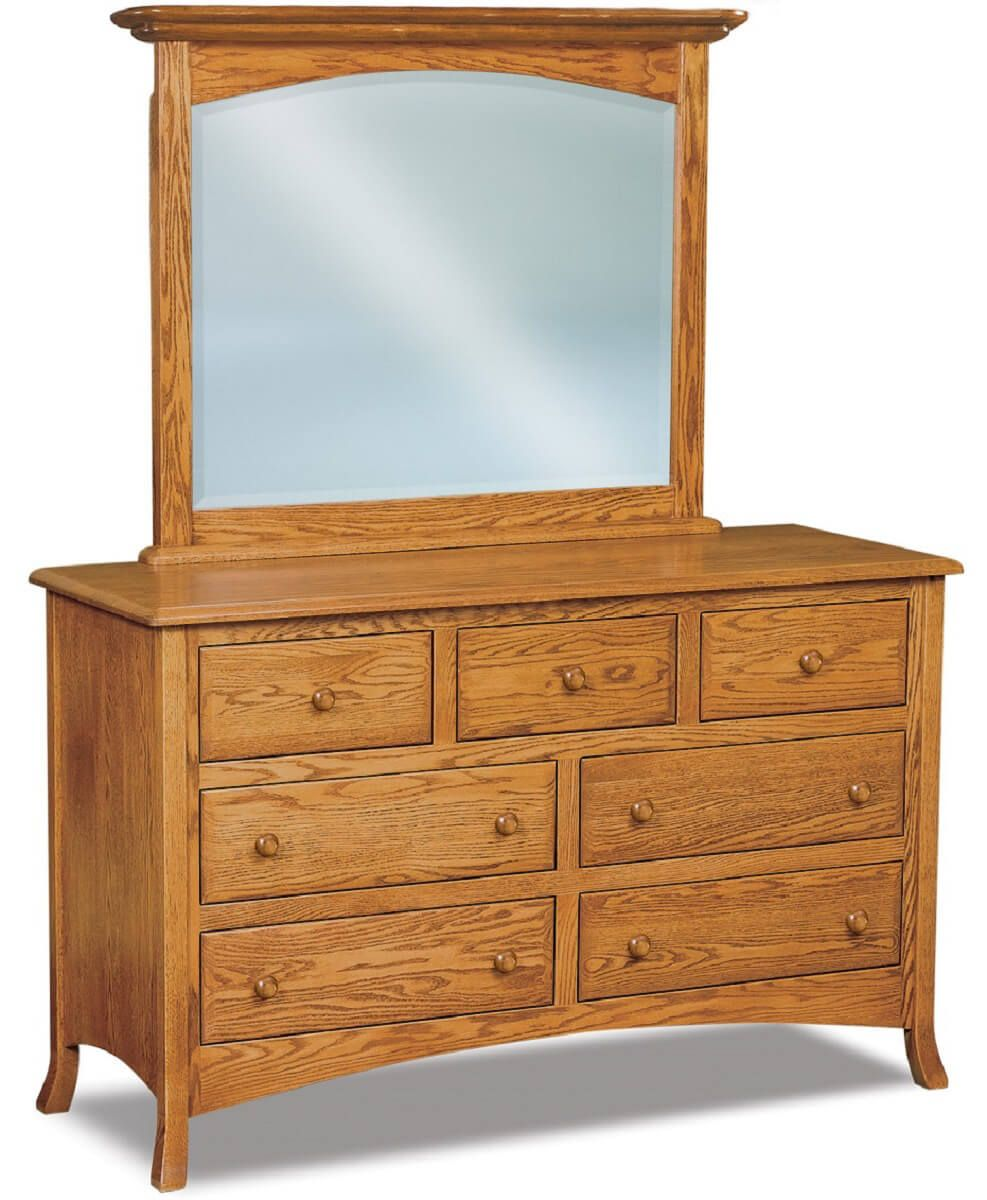 Bradley 7 Drawer Dresser
