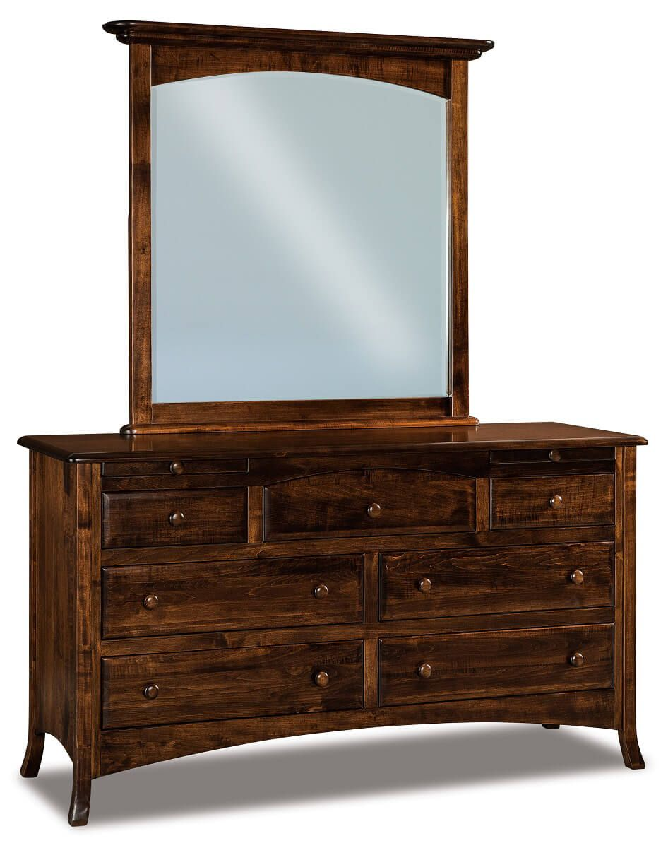 Bradley Dresser with Jewelry Drawers