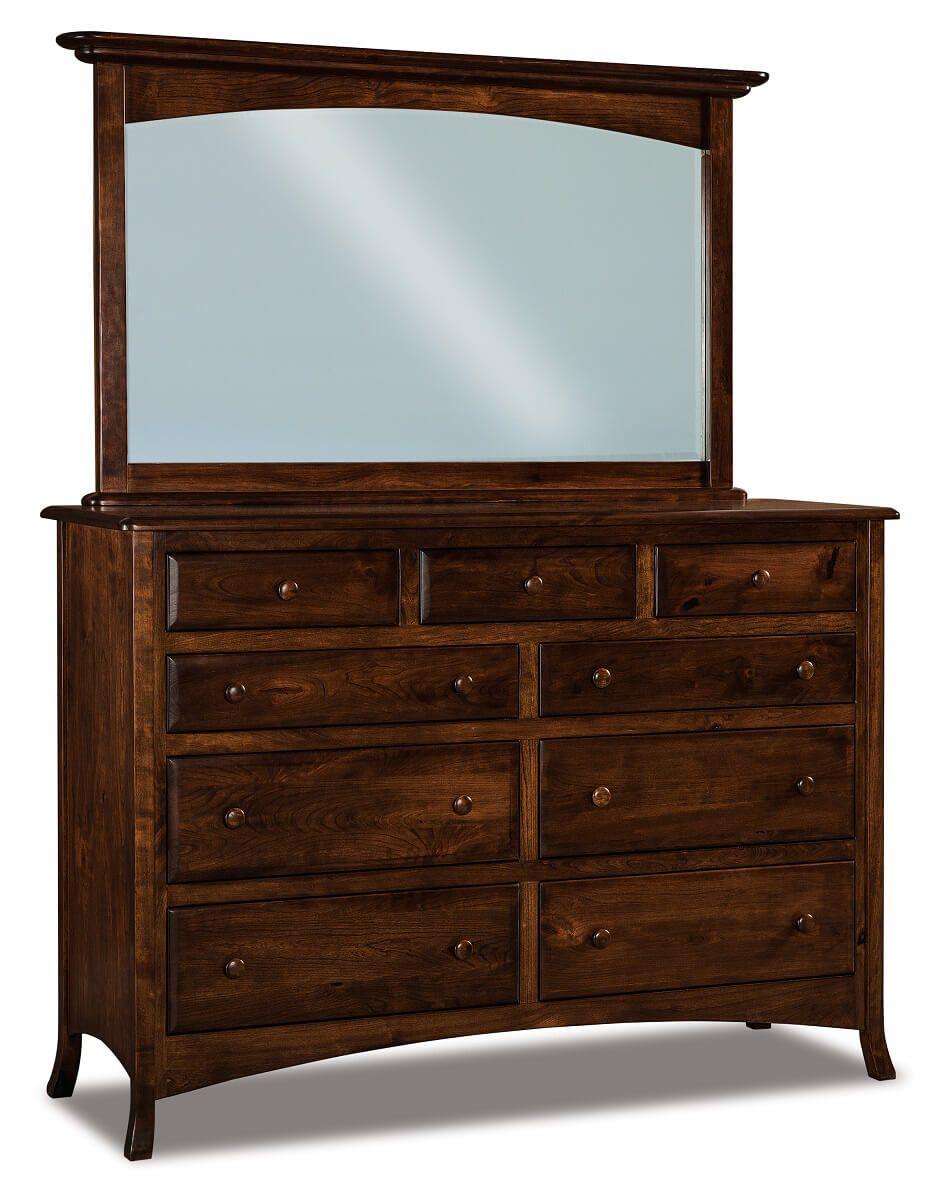 Bradley Mirrored Dresser