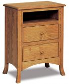 Bradley Nightstand with Opening
