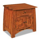 Castle Rock 1-Drawer Nightstand