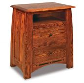 Castle Rock 2-Drawer Nightstand