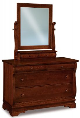 Milwaukee Sleigh Small Dresser