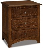 Norway 3-Drawer Nightstand