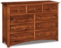 Norway 9 Drawer Dresser