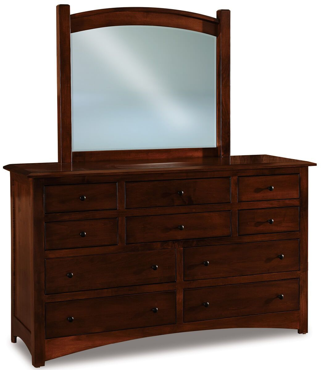 Norway Large Mirror Dresser