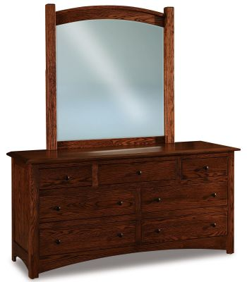 Norway Low Mirrored Dresser