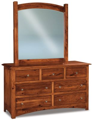 Norway Low Mirror Dresser