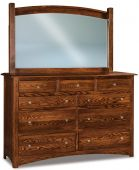 Norway Tall Mirror Dresser