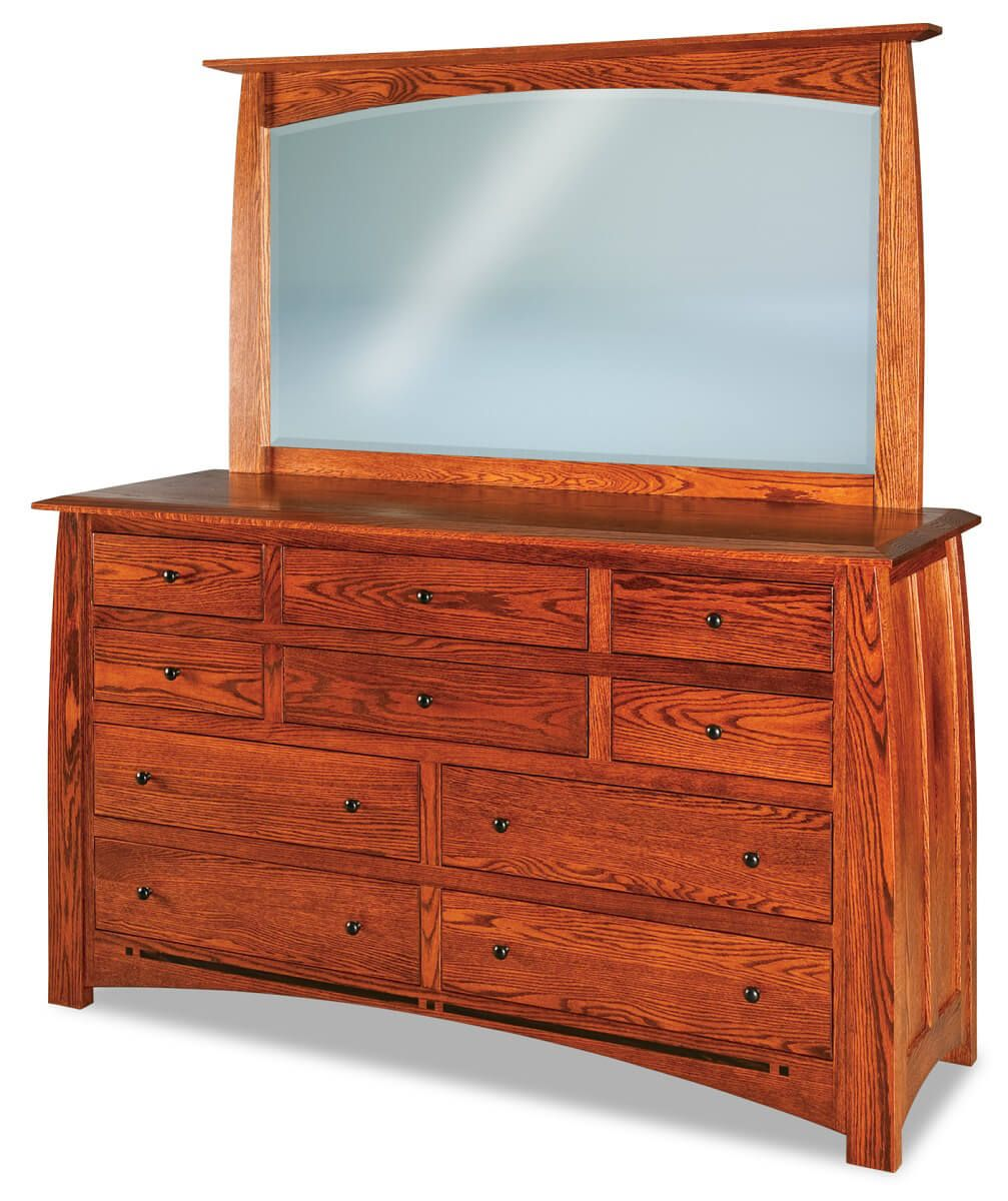 Castle Rock Dresser with Mirror