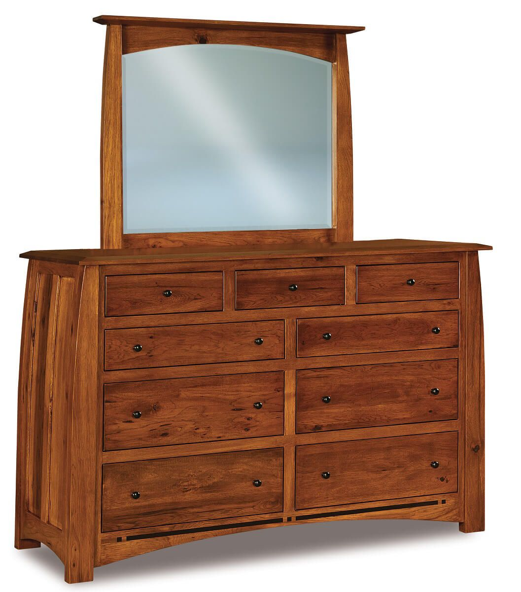 Castle Rock Tall Mirrored Dresser