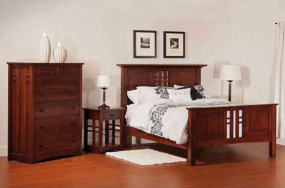 Alpine Craftsman Bedroom Set Countryside Amish Furniture