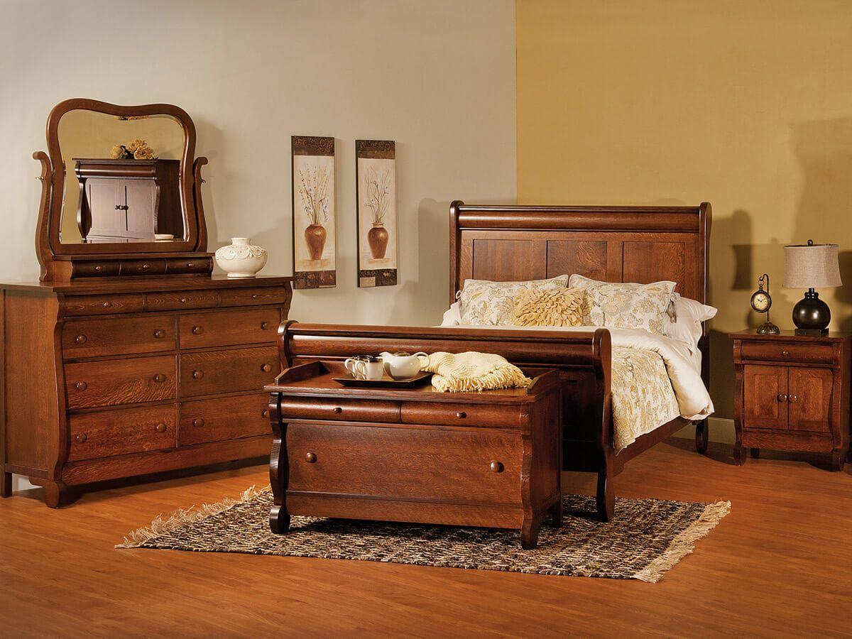 Victoria Sleigh Bedroom Set