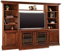 Wall Units Amp Entertainment Centers Countryside Amish