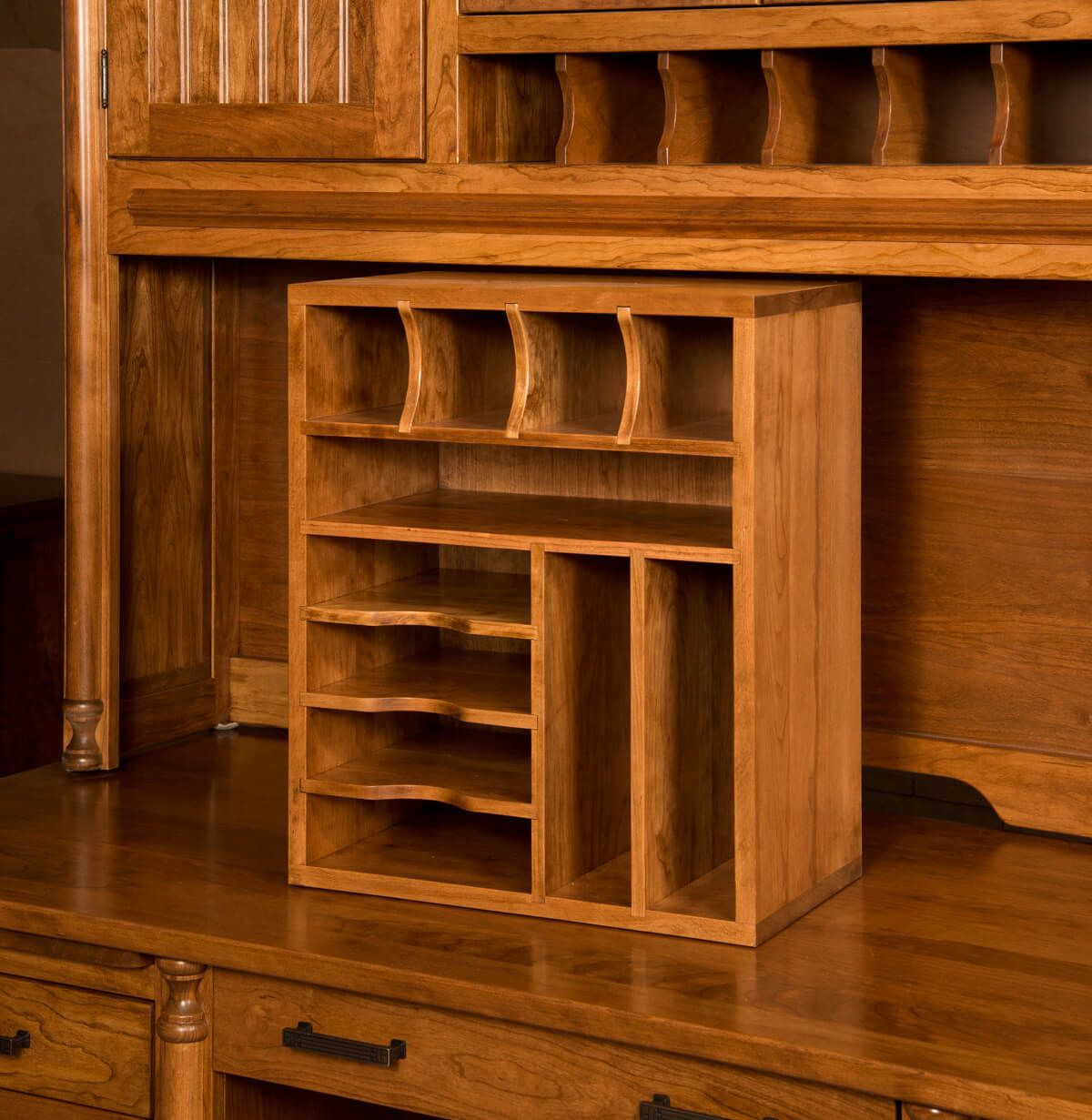 Ferguson Desk with Hutch - Countryside Amish Furniture