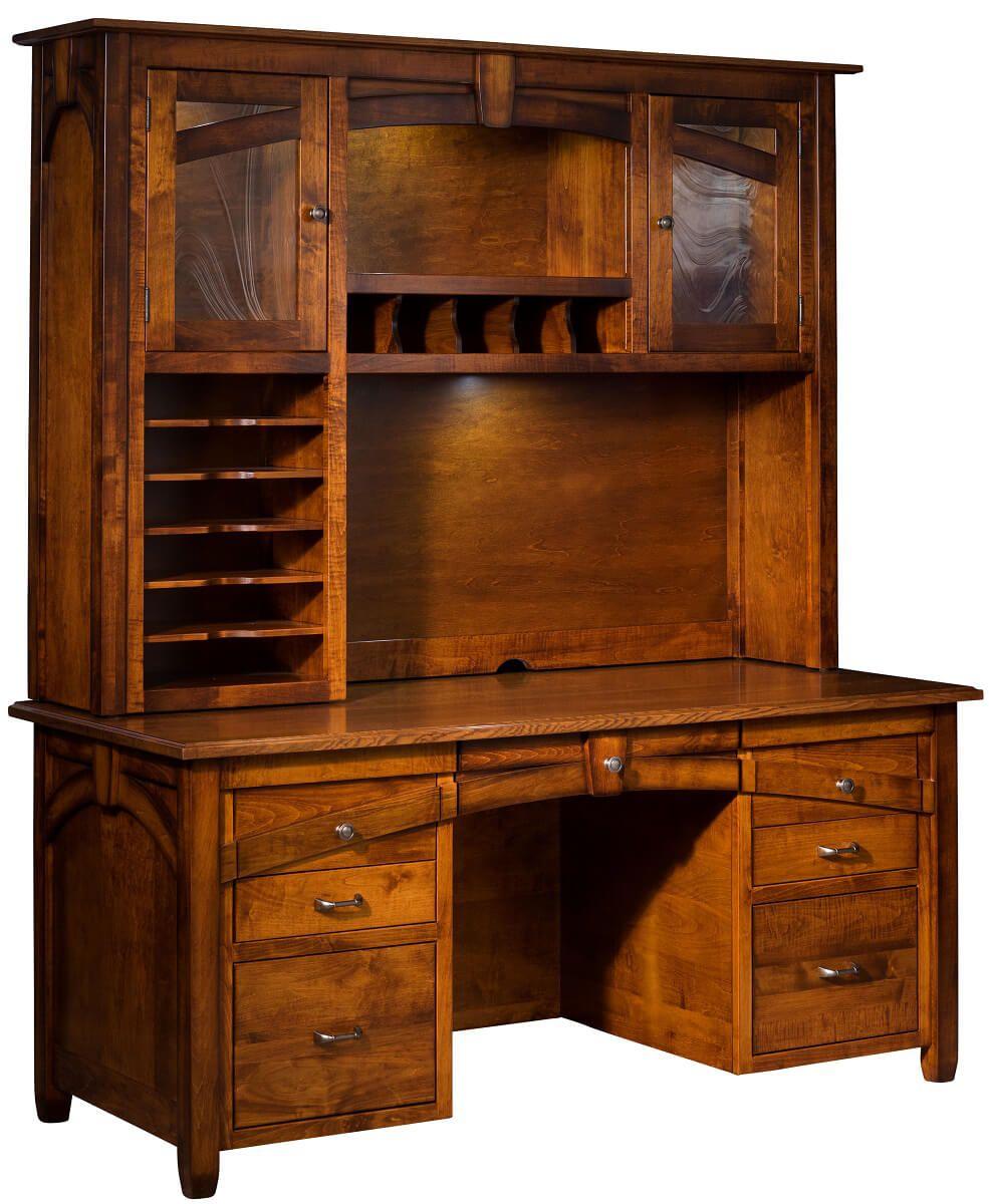 Hutch Top Desk