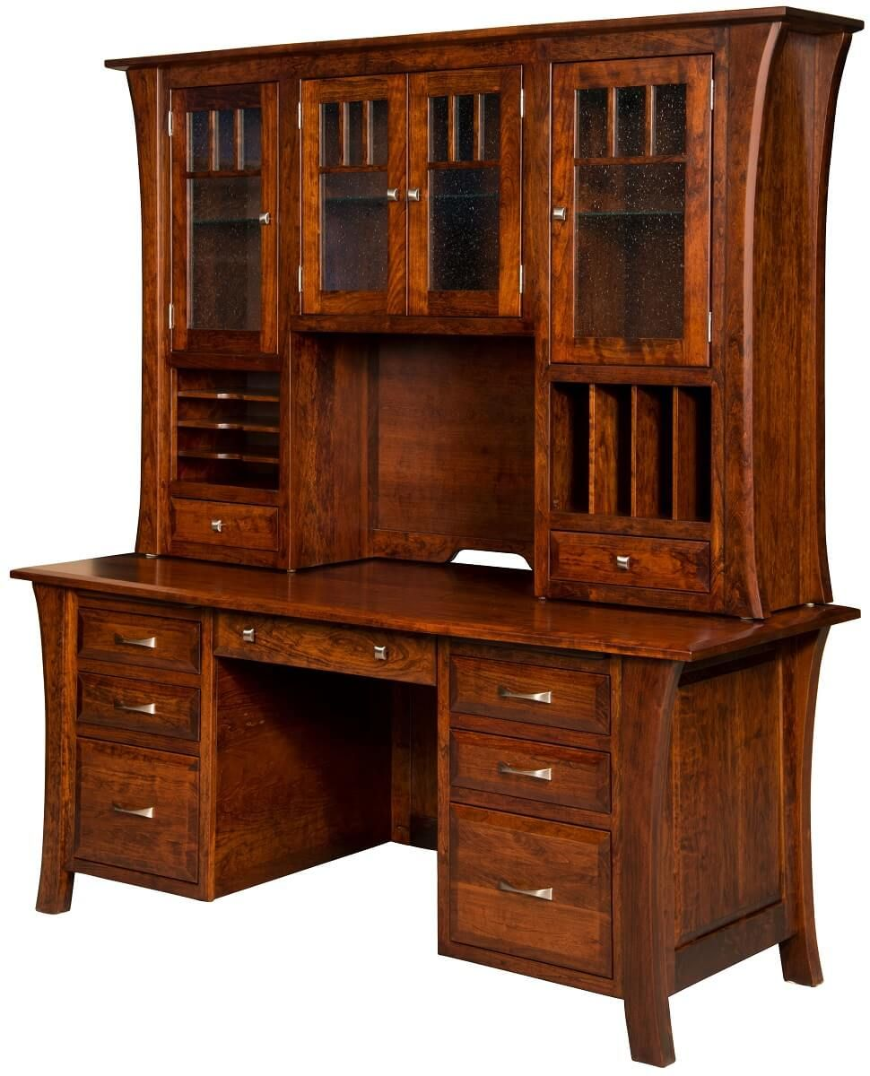 Office Desk With Hutch