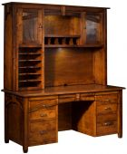 Maxwell Hutch Top Desk