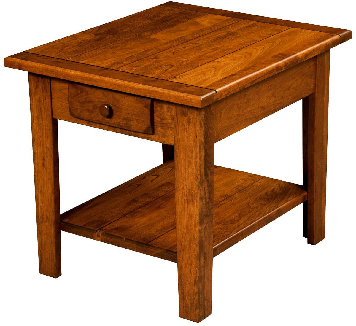 Rustic Alcott End Table