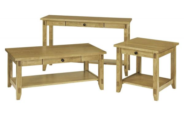 Bass Lake Coffee Table Countryside Amish Furniture - Bass coffee table