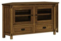 Laird 2-Drawer Corner TV Stand
