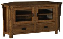 Lakeland 2-Drawer Corner Console