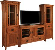 Lakeland Tower TV Console