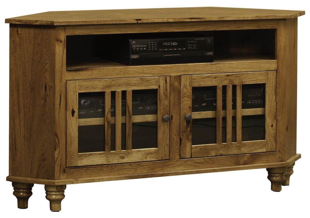 Traditional Corner TV Cabinet
