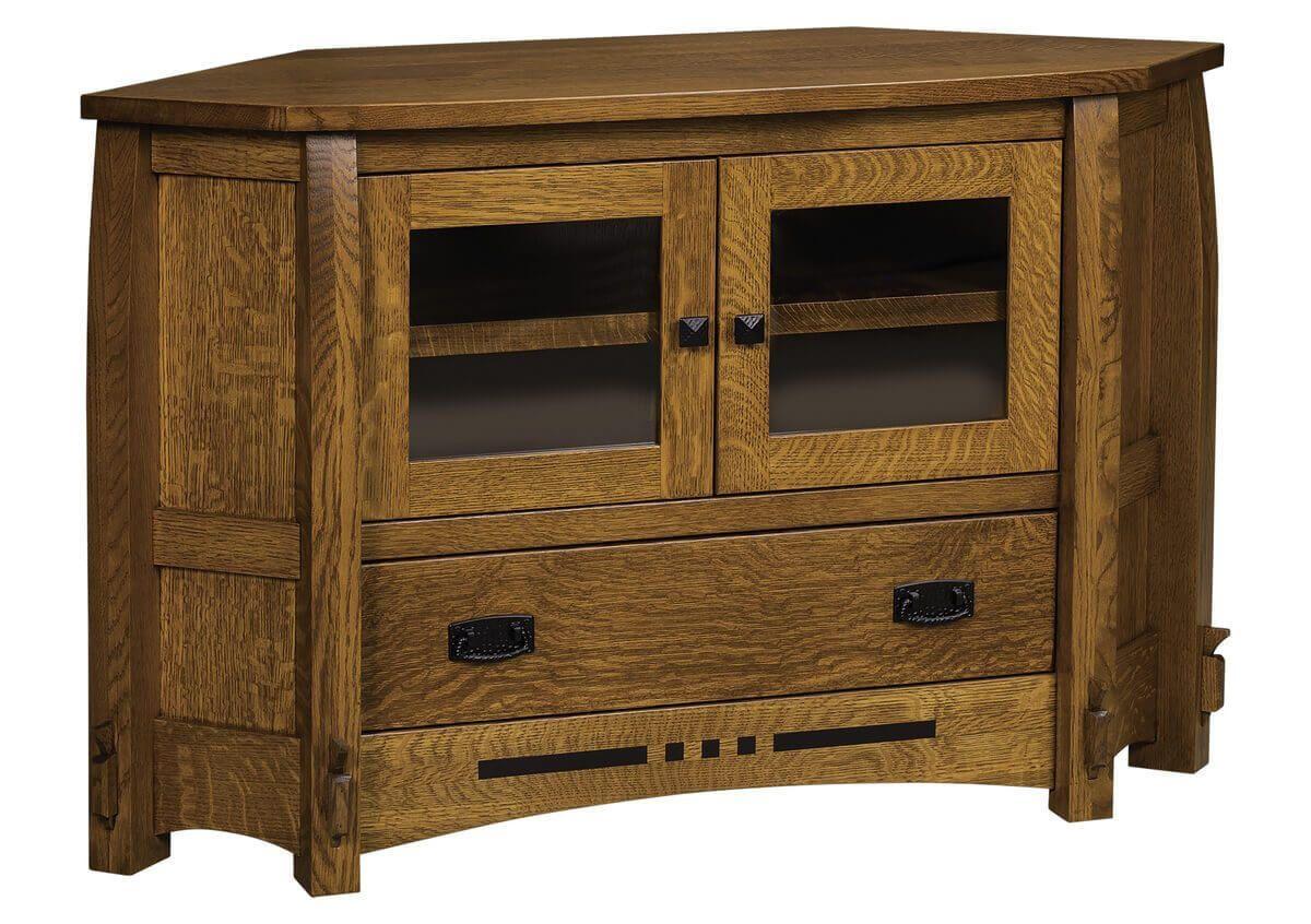 1 Drawer Corner Cabinet