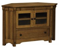 Sunrise Manner Corner Media Console
