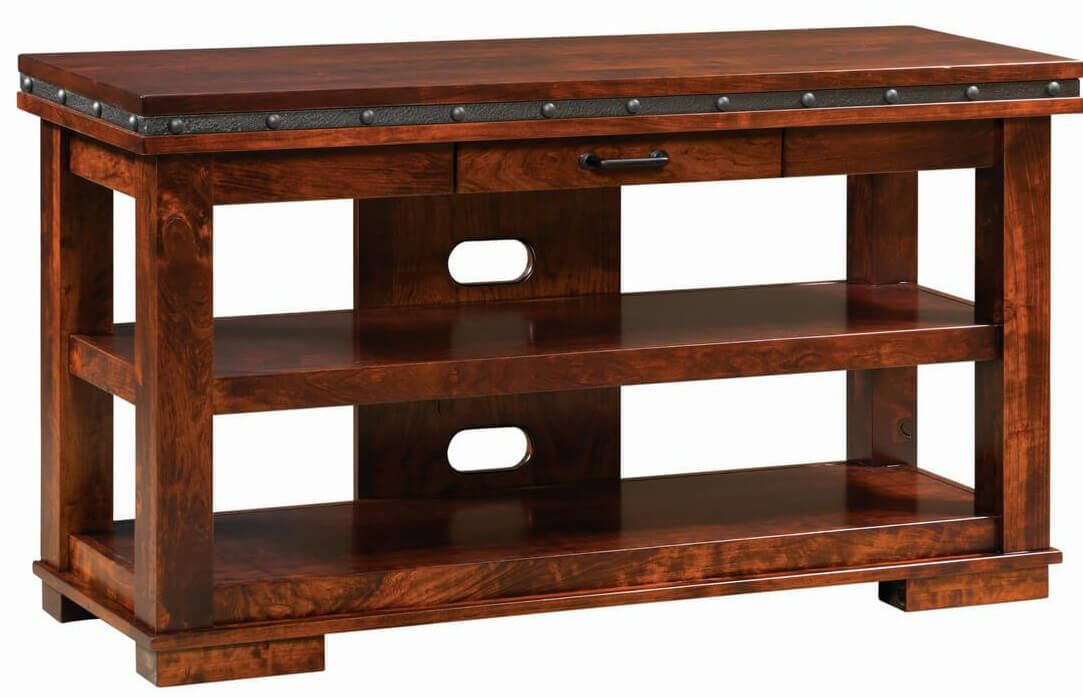 Contemporary Open TV Stand