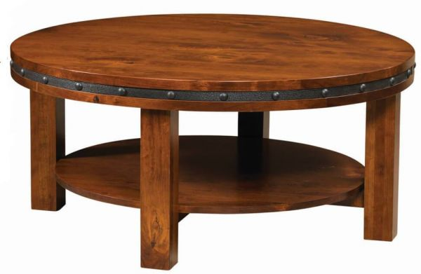 Industrial Round Coffee Table
