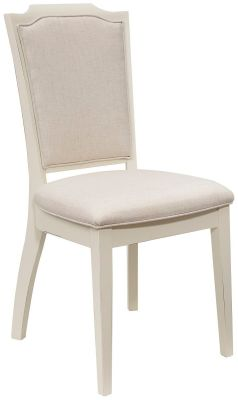 White Painted Arm Chair