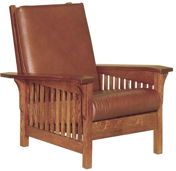 History Of The Morris Chair Amish Made Craftsman Morris Chairs