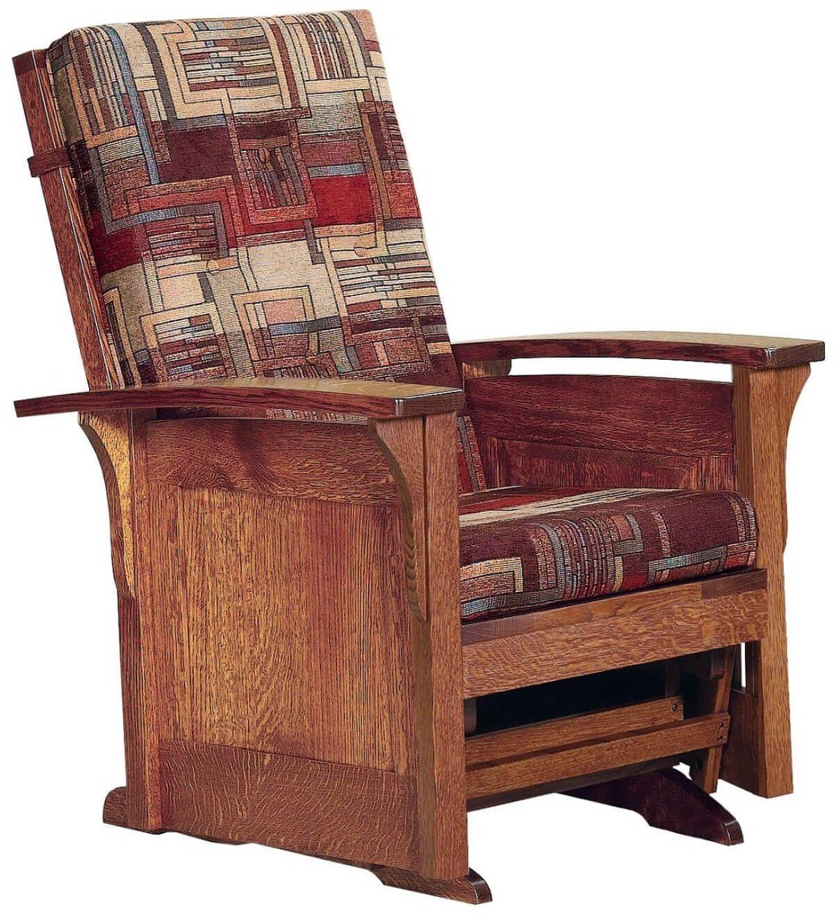Hallstat Paneled Glider Chair