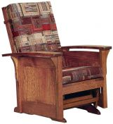 Hallstat Paneled Glider Chair