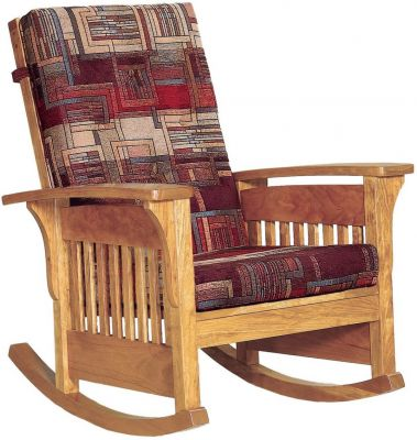 Hallstat Mission Rocking Chair Countryside Amish Furniture