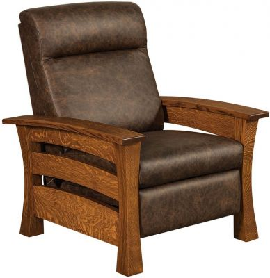 Portmagee Reclining Chair Countryside Amish Furniture