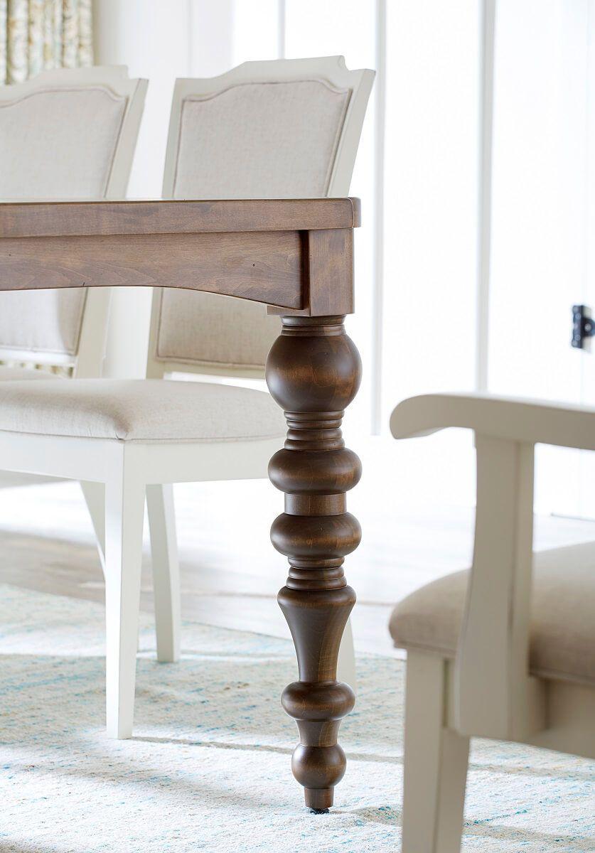 Elegant Turned Table Legs